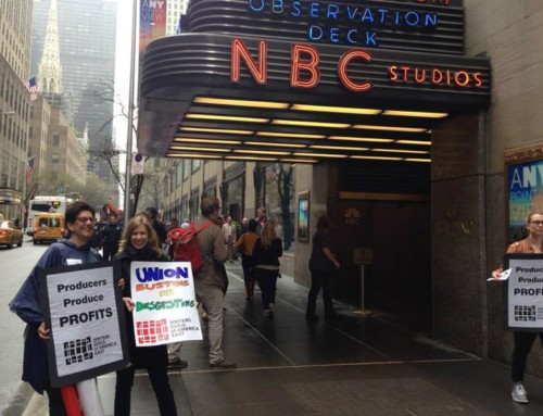Writers Guild East Accuses NBCUniversal of Union-Busting